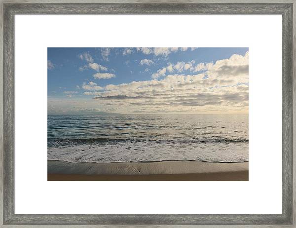 Beach Day - 2 Framed Print