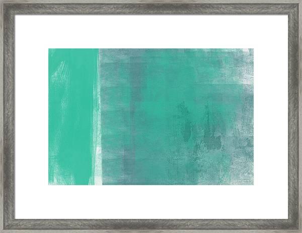 Beach Glass 2 Framed Print