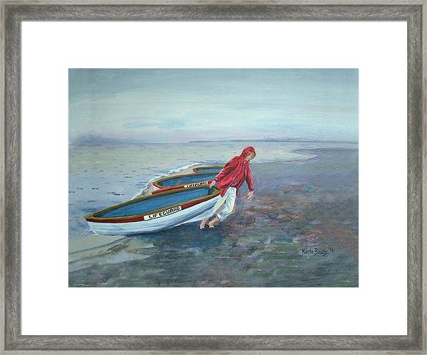 Beach Lifeguard Framed Print