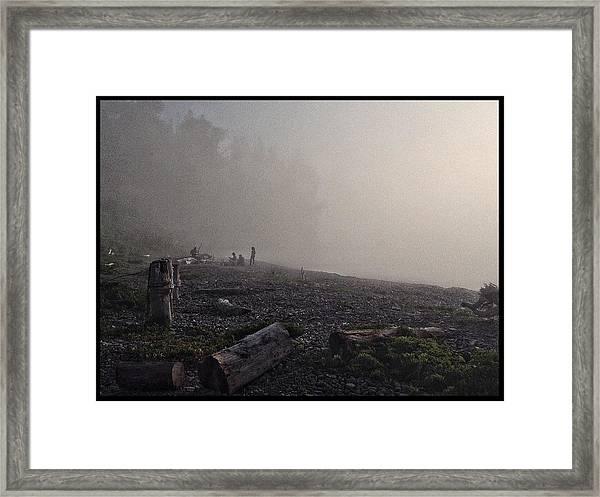 Beach Mist  Framed Print