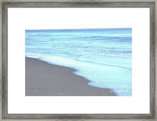 Beach Shore 1 Framed Print by Brian Booth