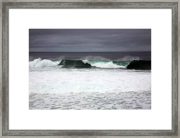 Beachcomber Framed Print by Robin Street-Morris