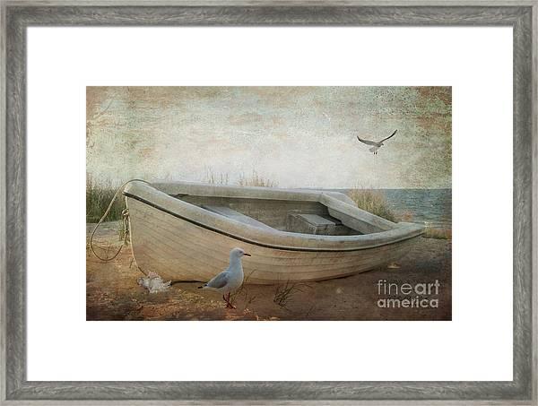 Beached Framed Print