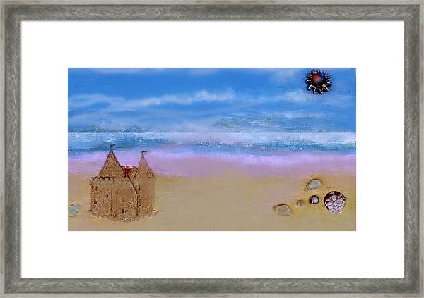 Beaches Castle Framed Print