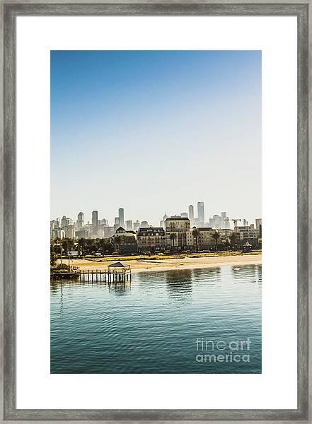 Beacon Cove Framed Print