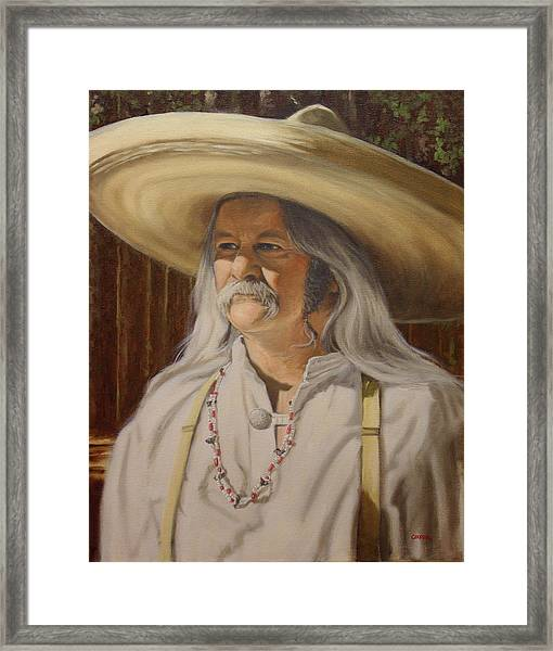 Bead Guy Framed Print