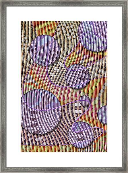 Bead Spumps Framed Print