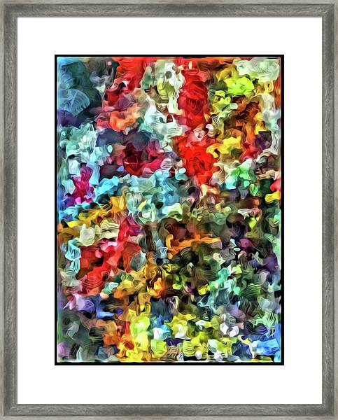 Beaded Bliss Framed Print
