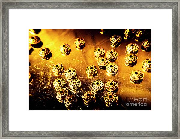 Beads From Another Universe Framed Print