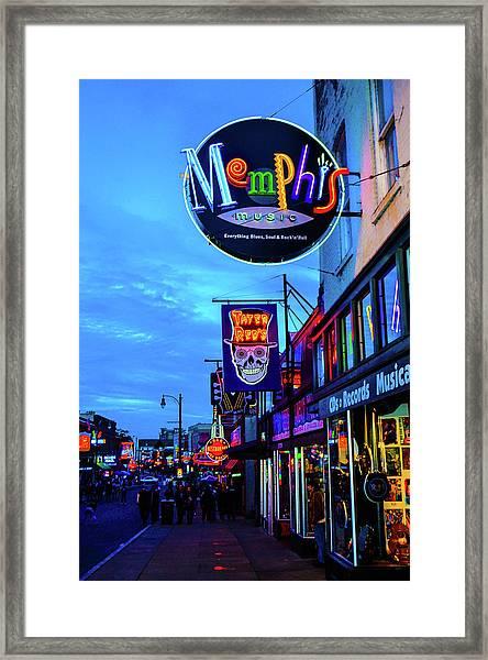 Beale Str. Blues  Framed Print