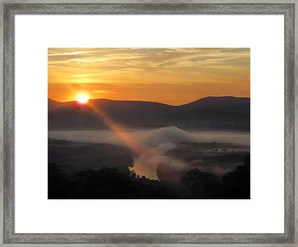 Beaming Shenandoah Framed Print