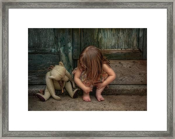 Bear Feet Framed Print