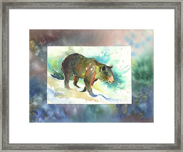 Bear I Framed Print