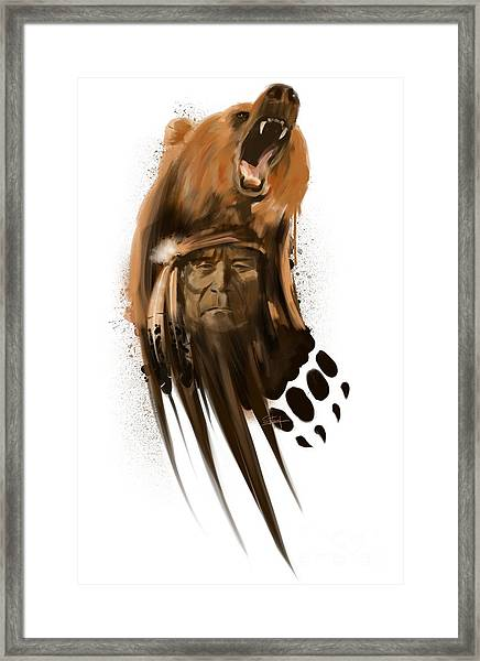 Bear Spirit  Framed Print