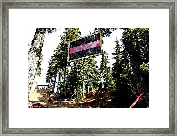 Bearclaw Sponsorship Framed Print
