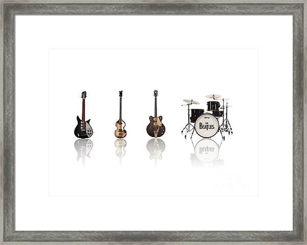 Beat Of Beatles Framed Print