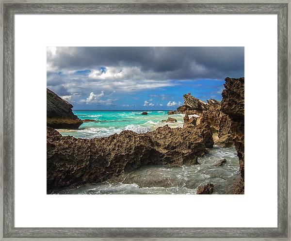 Beautiful Bermuda Framed Print