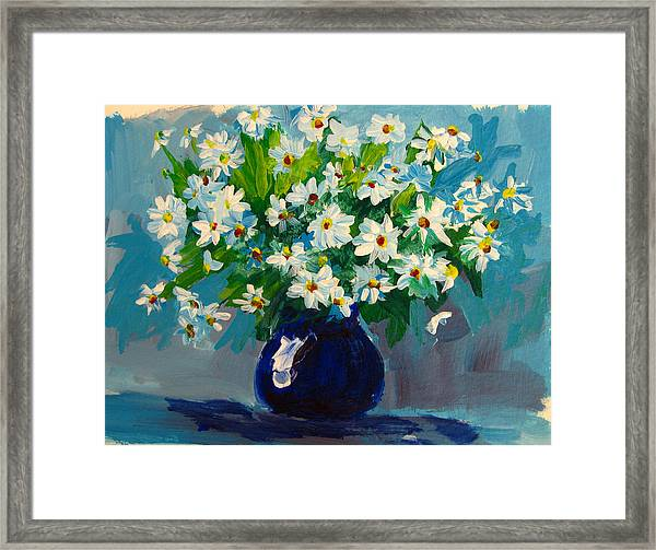 Beautiful Daisies  Framed Print