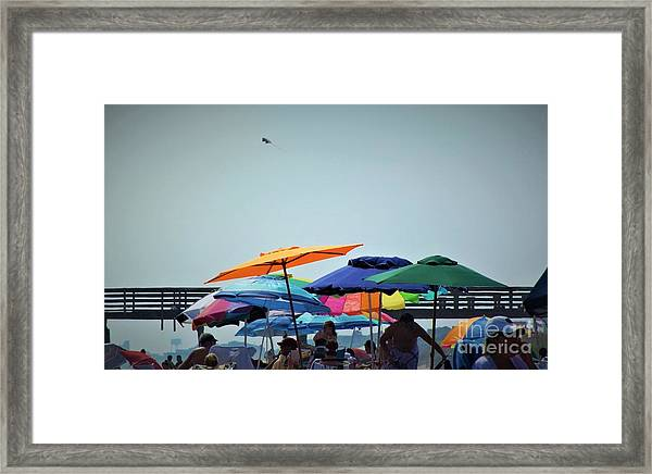 Beautiful Day For The Beach Framed Print