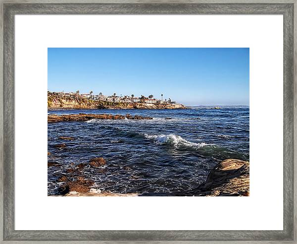 Beautiful Day In La Jolla Framed Print