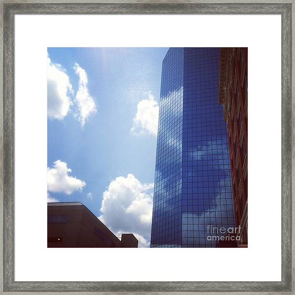 Framed Print featuring the drawing Beautiful Day In Lexington, Ky by Rachel Maynard