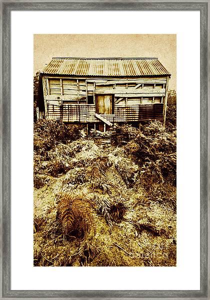 Beautiful Decay Framed Print