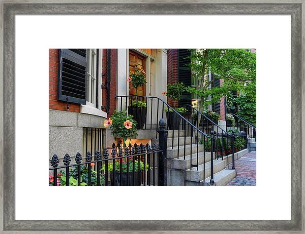 Beautiful Entrance Framed Print