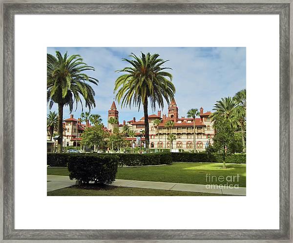 Beautiful Flagler College Framed Print