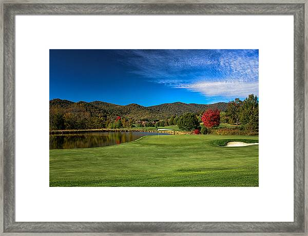 Colorful Golf Framed Print