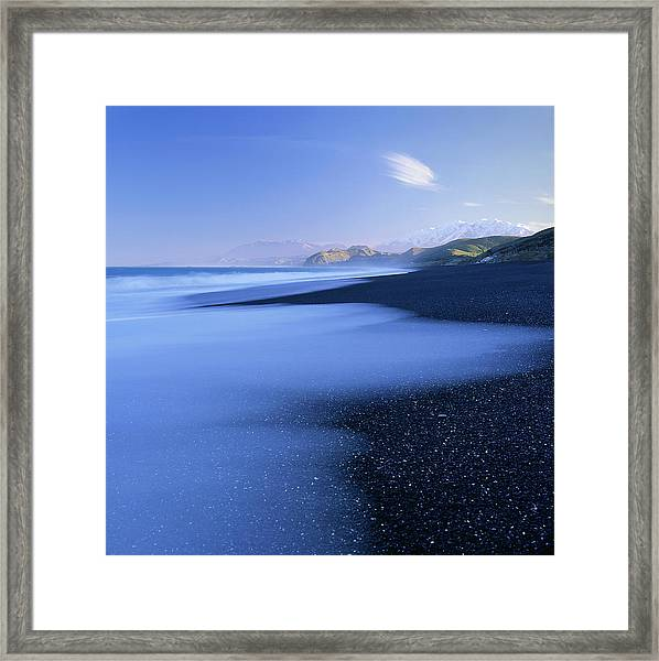 Beautiful Kekerengu Bay, New Zealand Framed Print