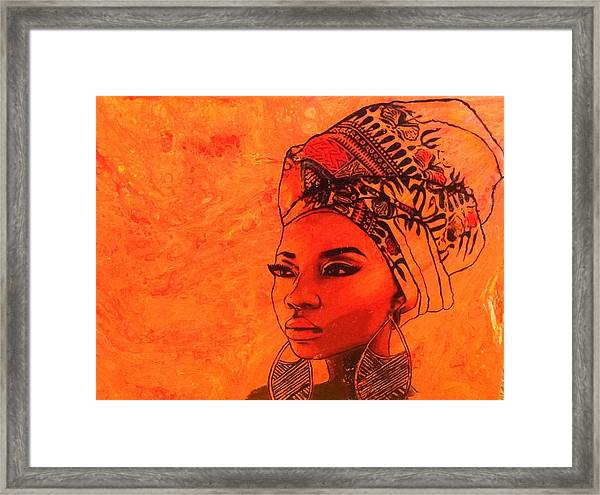 Beautiful Sista Framed Print