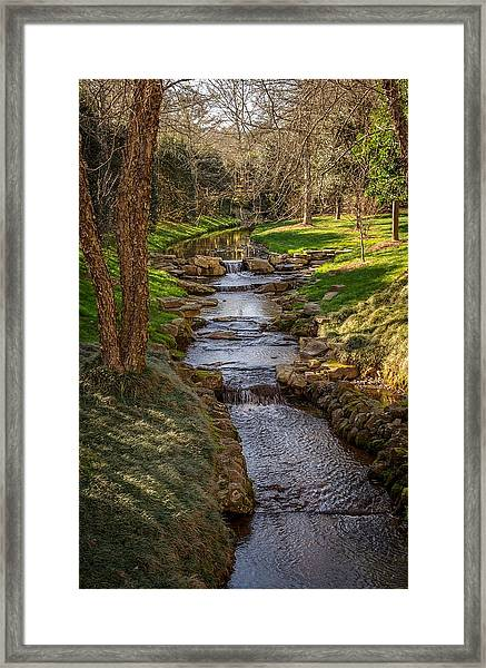 Beautiful Stream Framed Print