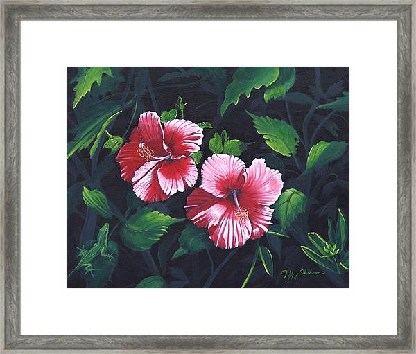 Beauty And The Beast Framed Print by Jeffrey Oldham