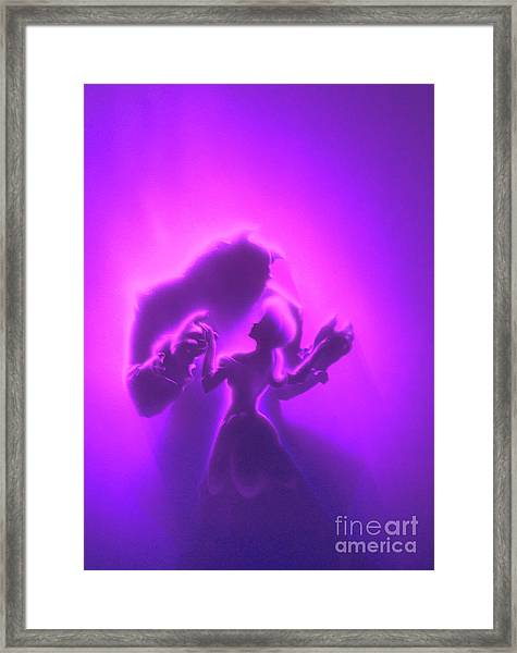 Beauty Beast Framed Print
