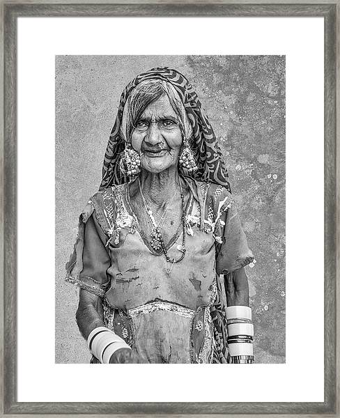 Beauty Before Age. Framed Print