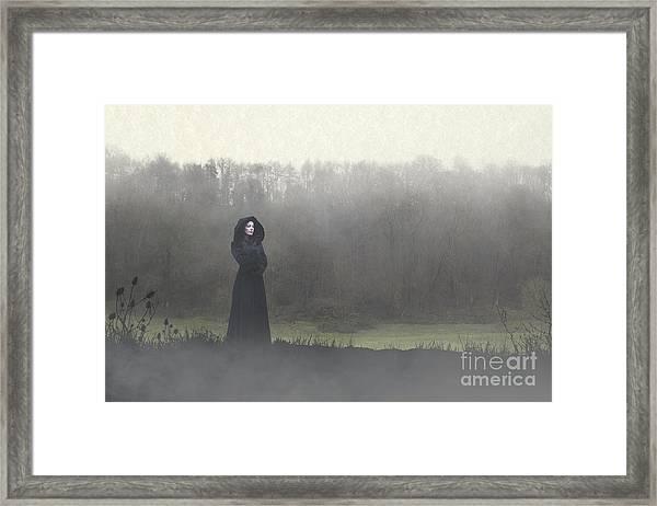 Beauty In The Fog Framed Print