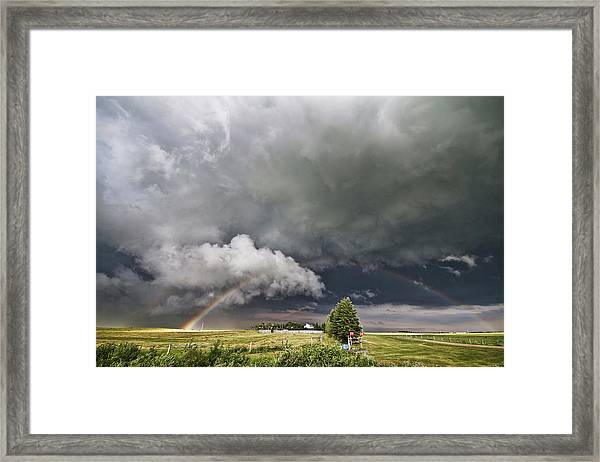 Beauty Within Darkness Framed Print
