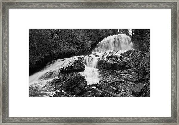 Beaver Brook Falls Framed Print