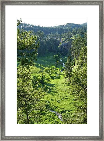 Beaver Creek In The Spring Framed Print