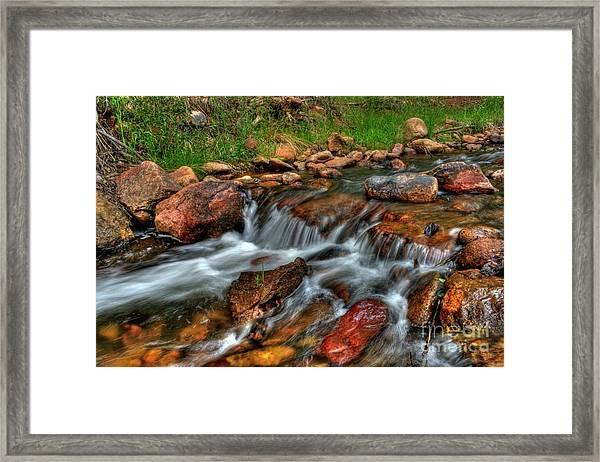 Beaver Creek Framed Print