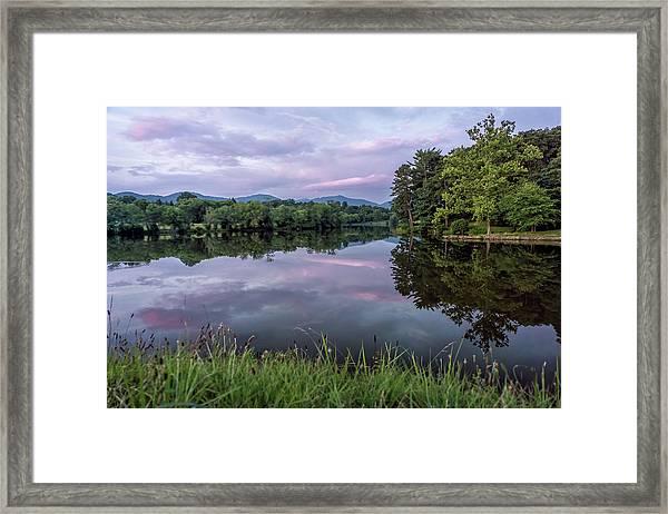 Beaver Lake Reflections Framed Print