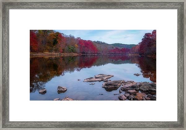 Beavers Bend State Park Framed Print