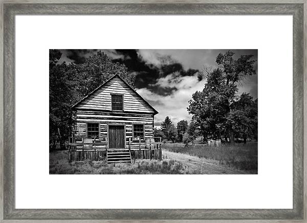 Beckwourth Cabin Framed Print
