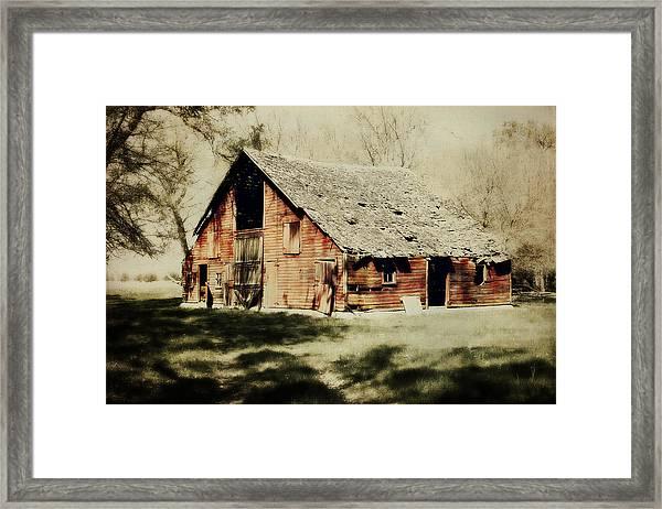 Beckys Barn 1 Framed Print
