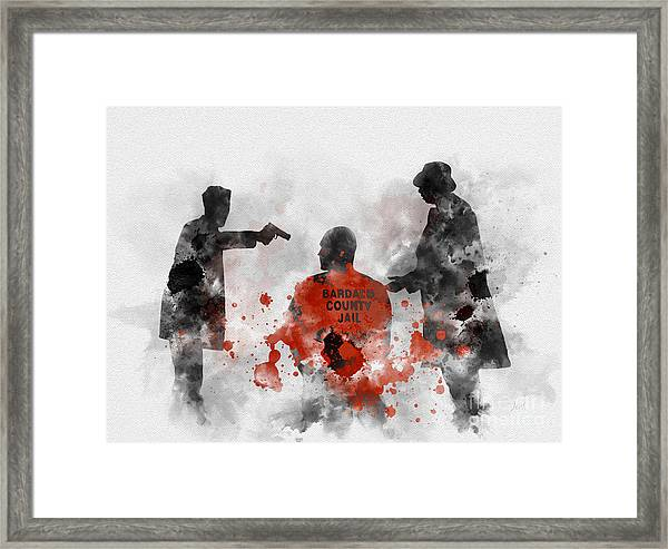 Become Wrath Framed Print