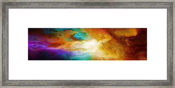 Becoming - Abstract Art Framed Print