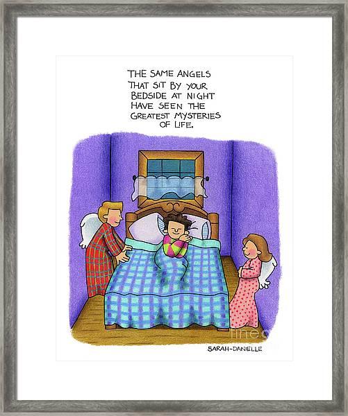 Bedside Vigil Framed Print