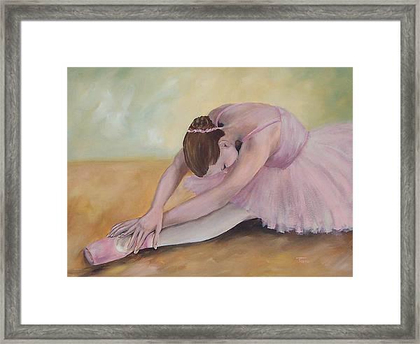Before The Ballet  Framed Print
