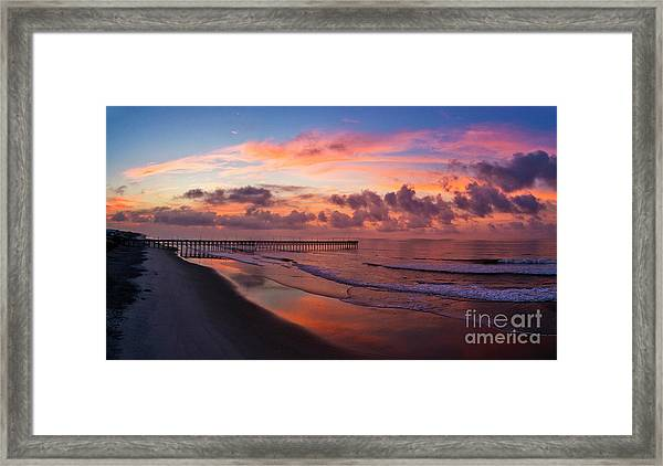 Framed Print featuring the photograph Before The Dawn by DJA Images