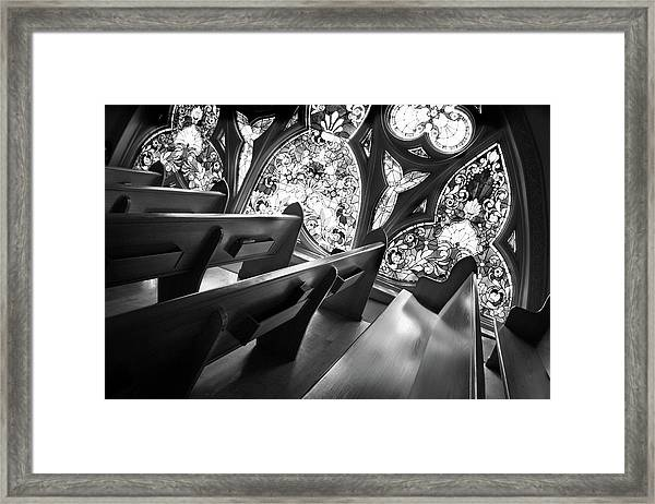 Before Vespers Framed Print